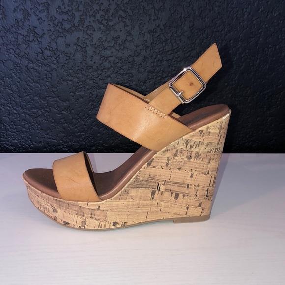 b5105fac6f6 leather platform wedges. M 5c71bdae03087c3f471a918a